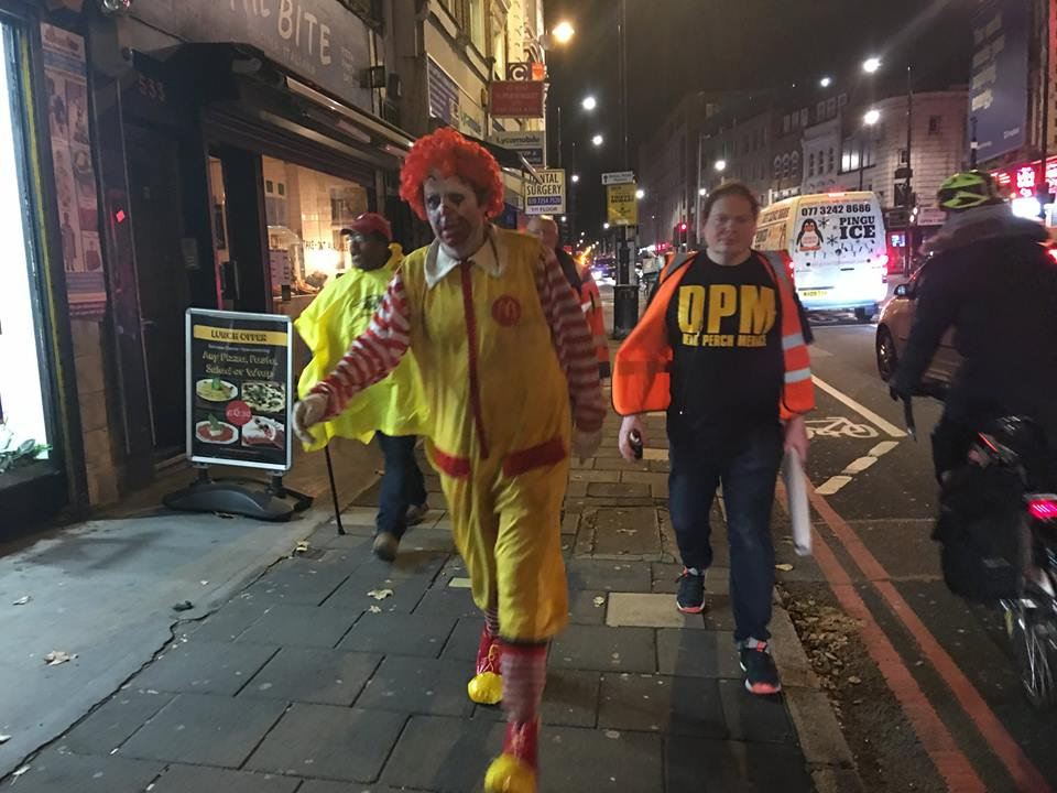 Dead Perch Menace and Ronald McDonald