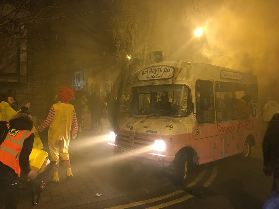 Ice Kream Van and Ronald McDonald